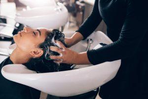 salon hair washing